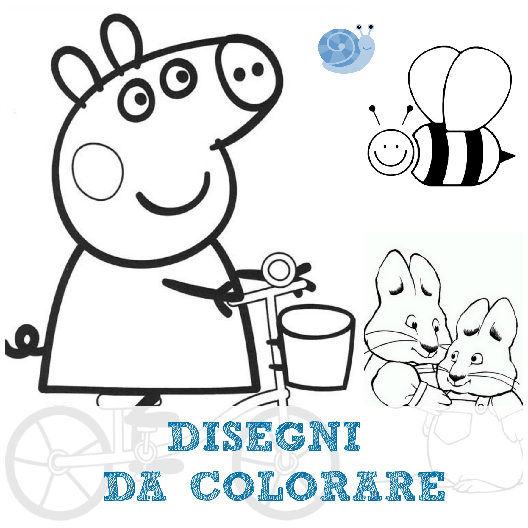 Disegni da colorare babygreen for Disegnare online casa