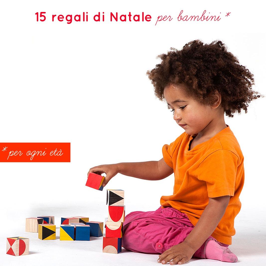 Regali di natale per bambini babygreen for Regali per bambini di 7 anni