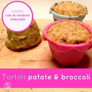 Tortini patate e broccoli