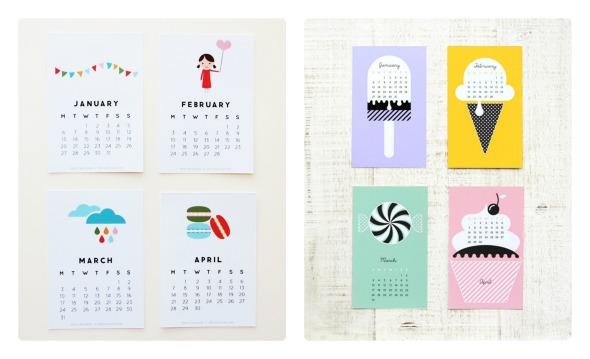 calendari 2014 da scaricare e stampare gratis babygreen