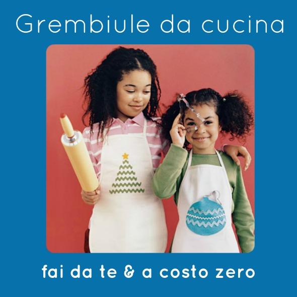 Come Fare Grembiuli Da Cucina Per Bambini.Grembiule Da Cucina Fai Da Te A Costo Zero Babygreen