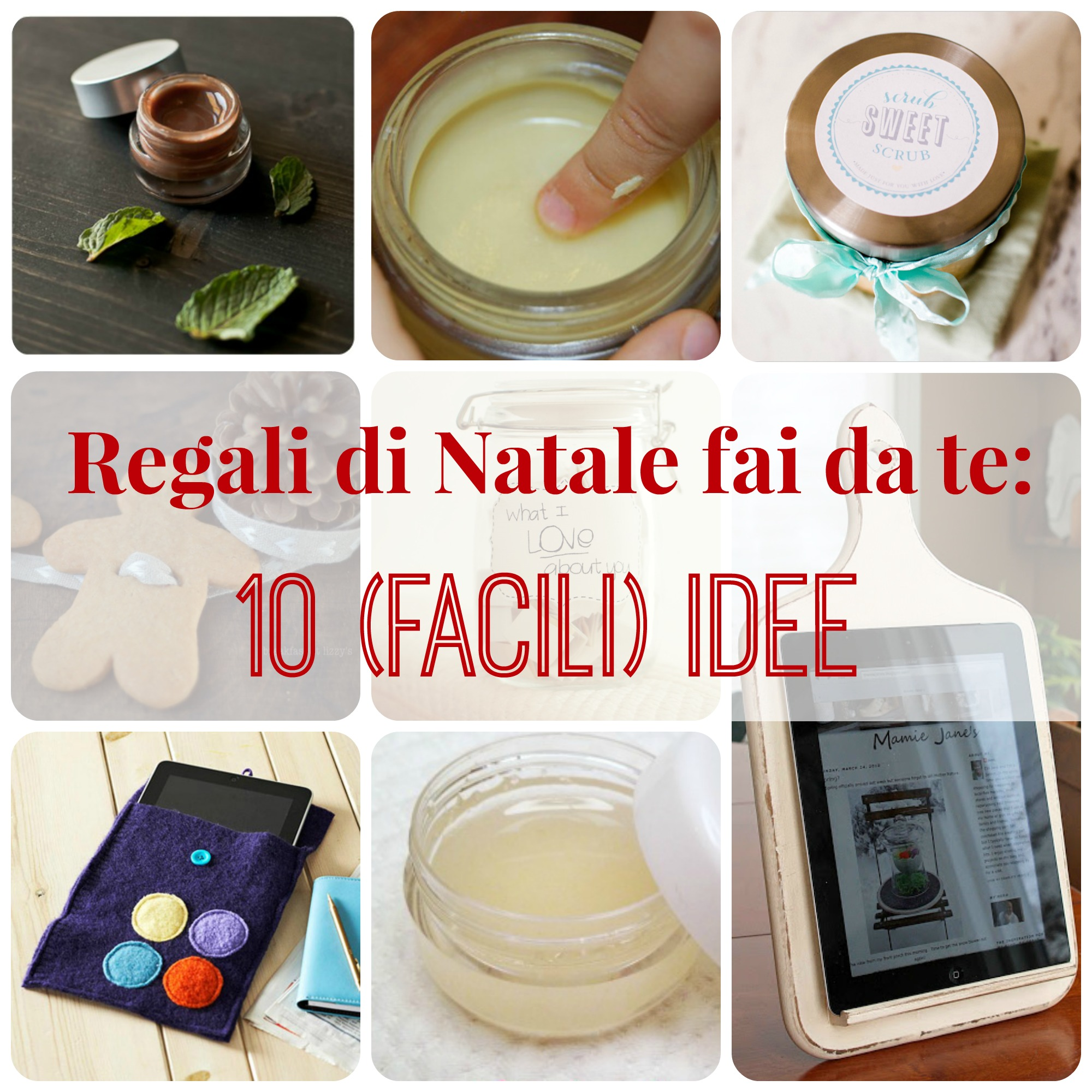 Regali natale fai da te 10 facili idee babygreen for Idee regali