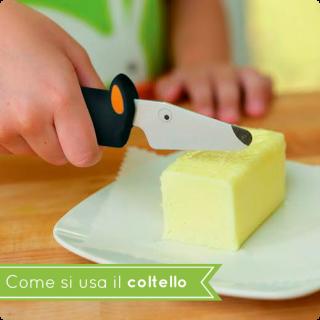 Come si usa il coltello