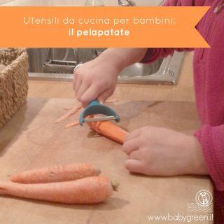 Utensili da cucina per bambini: il pelapatate