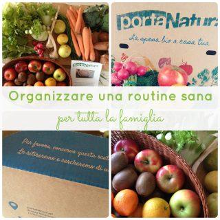 Organizzare una routine sana per tutta la famiglia