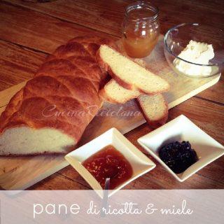 Pane di ricotta e miele