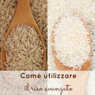 Come utilizzare il riso avanzato