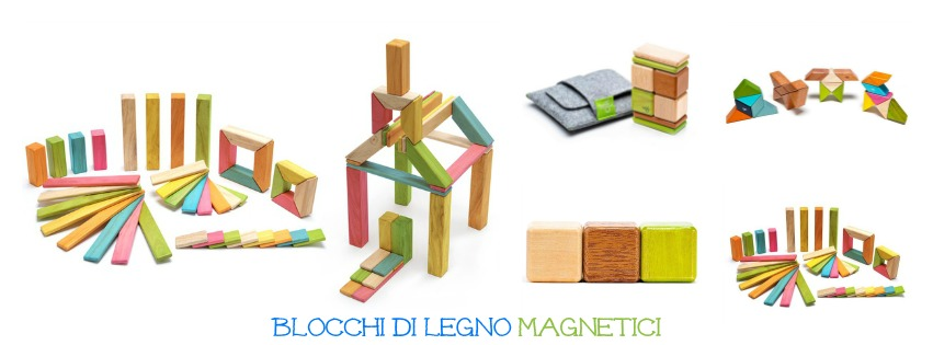 Costruzioni di legno magnetiche
