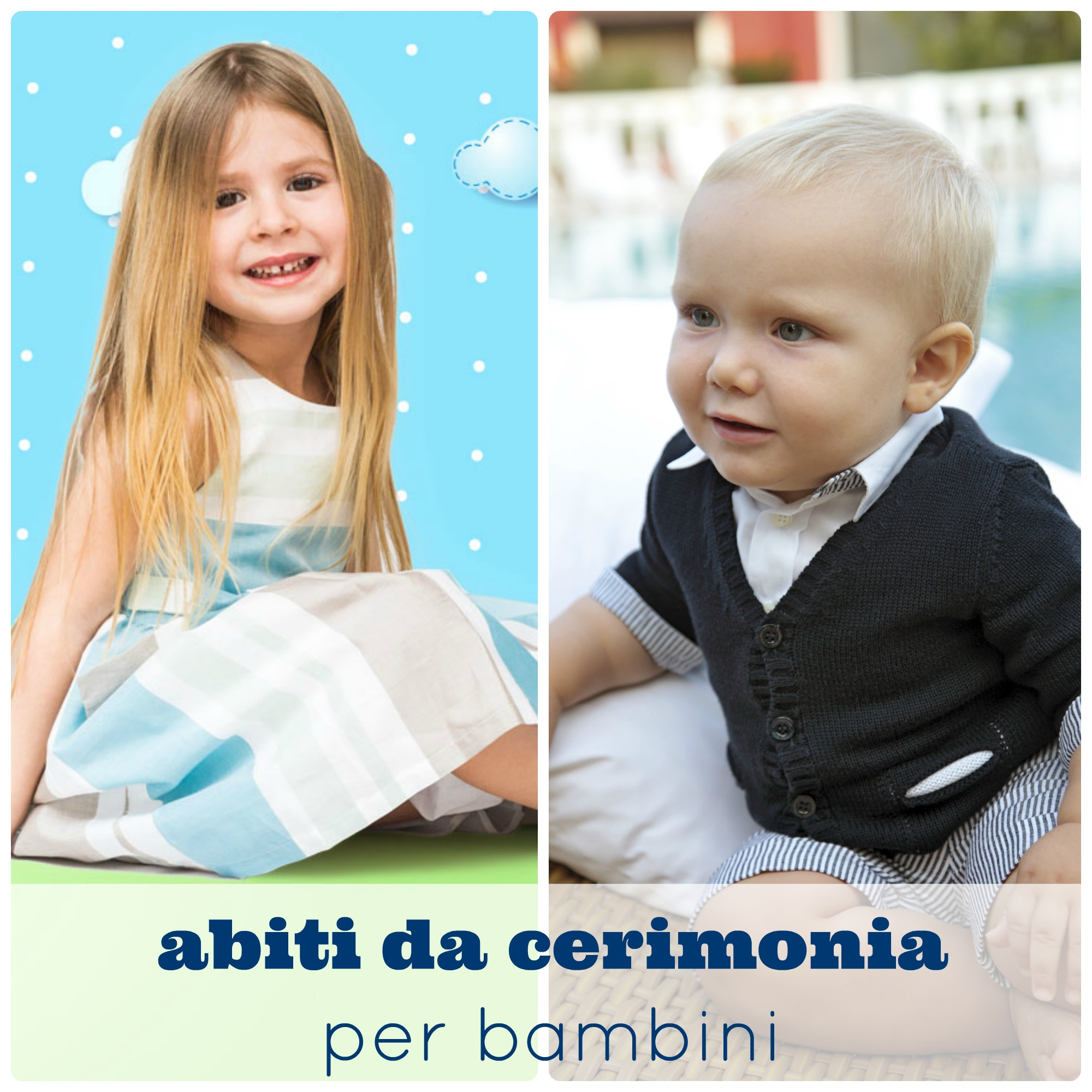 Abiti da cerimonia per bambini (da 0 a 3 anni)   BabyGreen