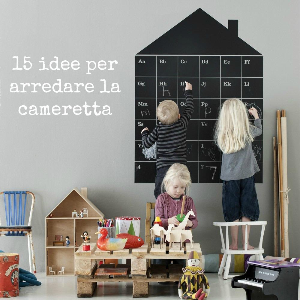 15 idee per arredare la cameretta babygreen for Idee per arredare camera ragazzo