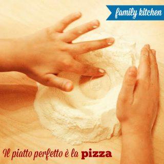 Fare la pizza con i bambini