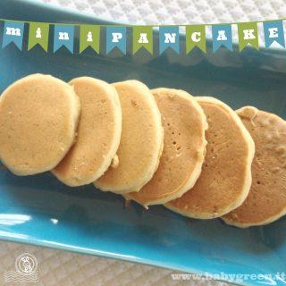 La merenda perfetta: mini pancakes