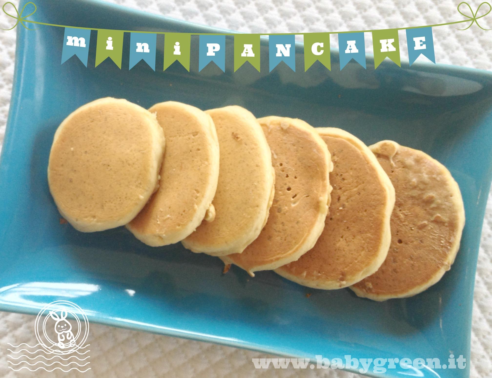 Ricetta mini pancakes