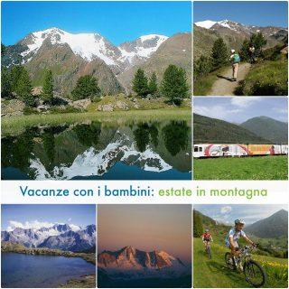 Vacanze con bambini: estate in montagna