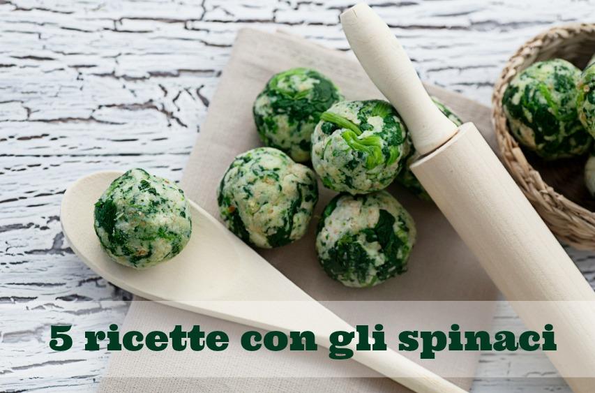 Ricette con gli spinaci per bambini