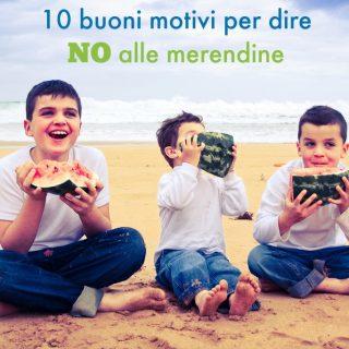 10 buoni motivi per dire NO alle merendine