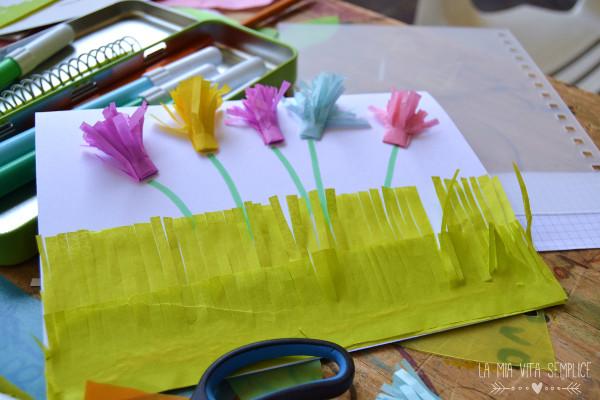 Biglietto creativo per Pasqua con bambini