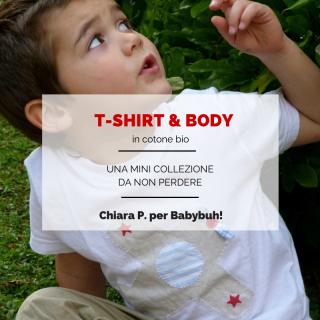 T-shirt & body: una mini collezione da non perdere