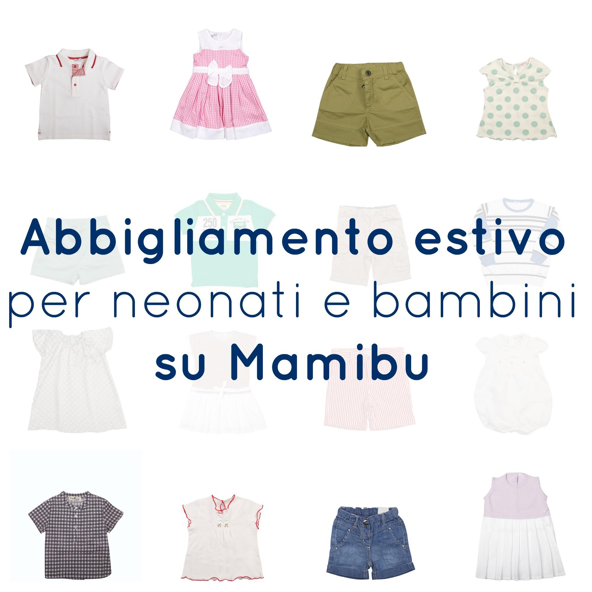 Abbigliamento estivo per neonati e bambini su Mamibu - BabyGreen 6499ac94fc3