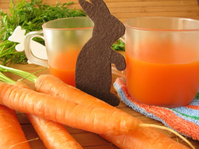 centrifugato di carota