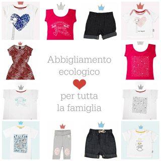 Abbigliamento ecologico per tutta la famiglia