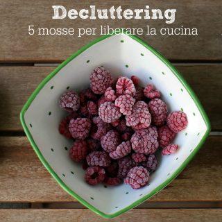 Decluttering: 5 mosse per liberare la cucina