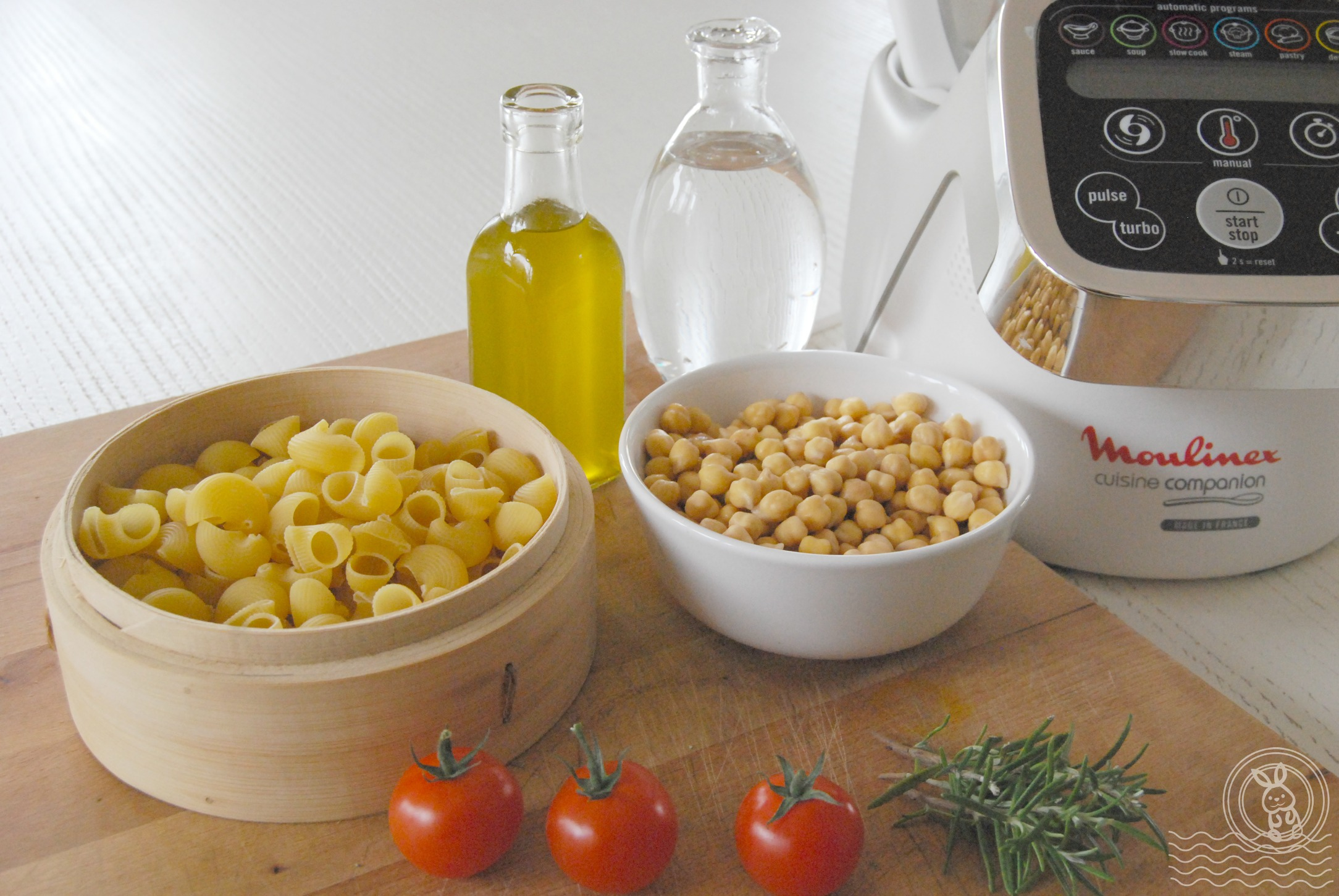 Pasta e ceci: ingredienti
