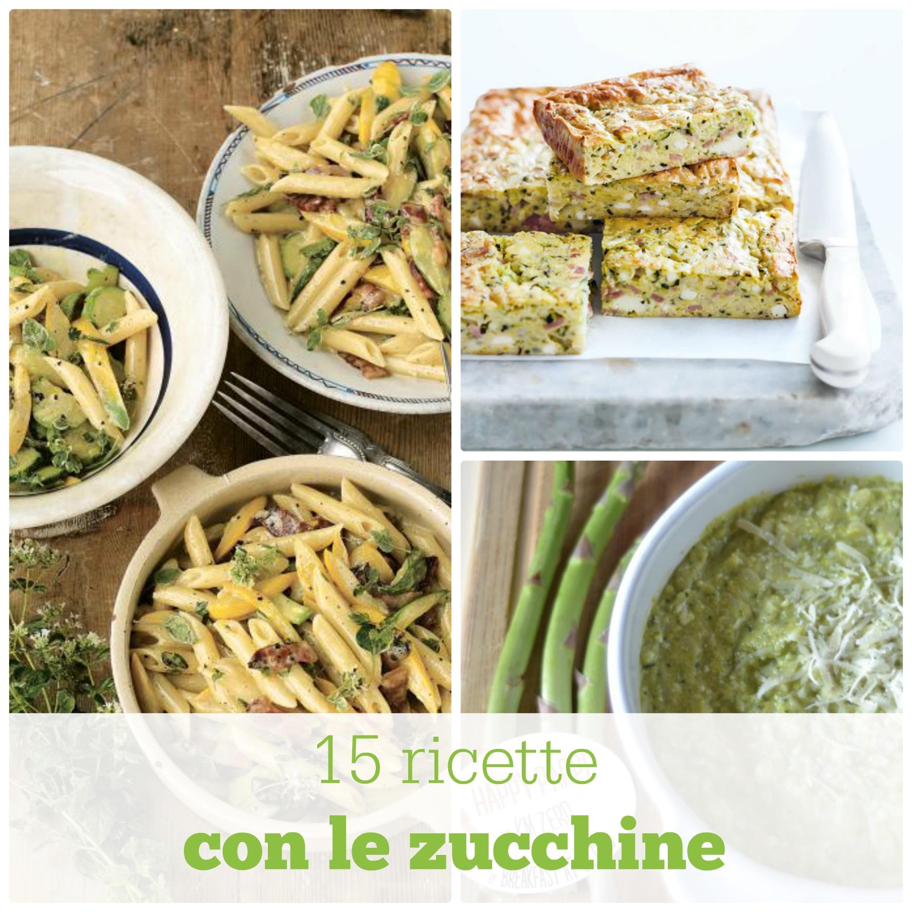 Ricette con le zucchine
