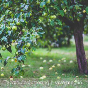 Decluttering e vivere semplice