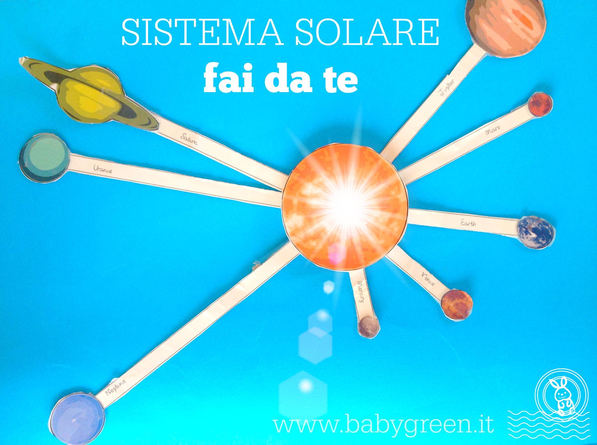 Sistema Solare Da Stampare