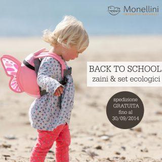 Back to school: zaini e set ecologici