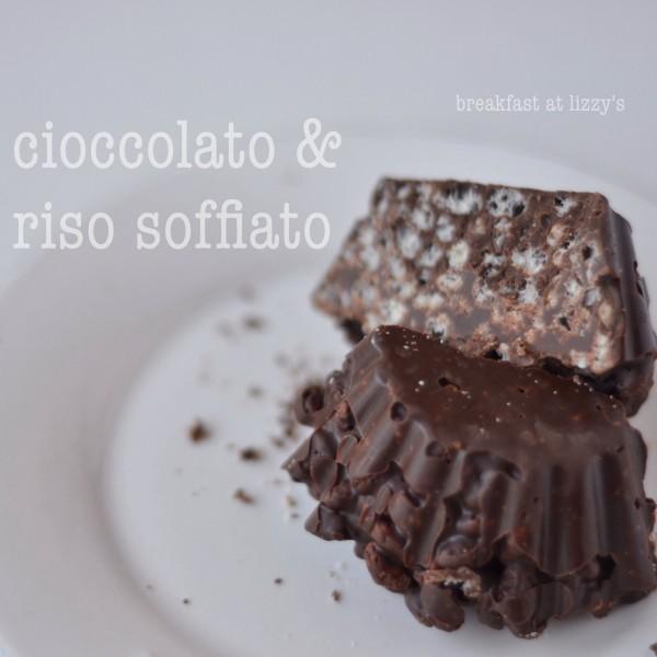 cioccolato e riso soffiato