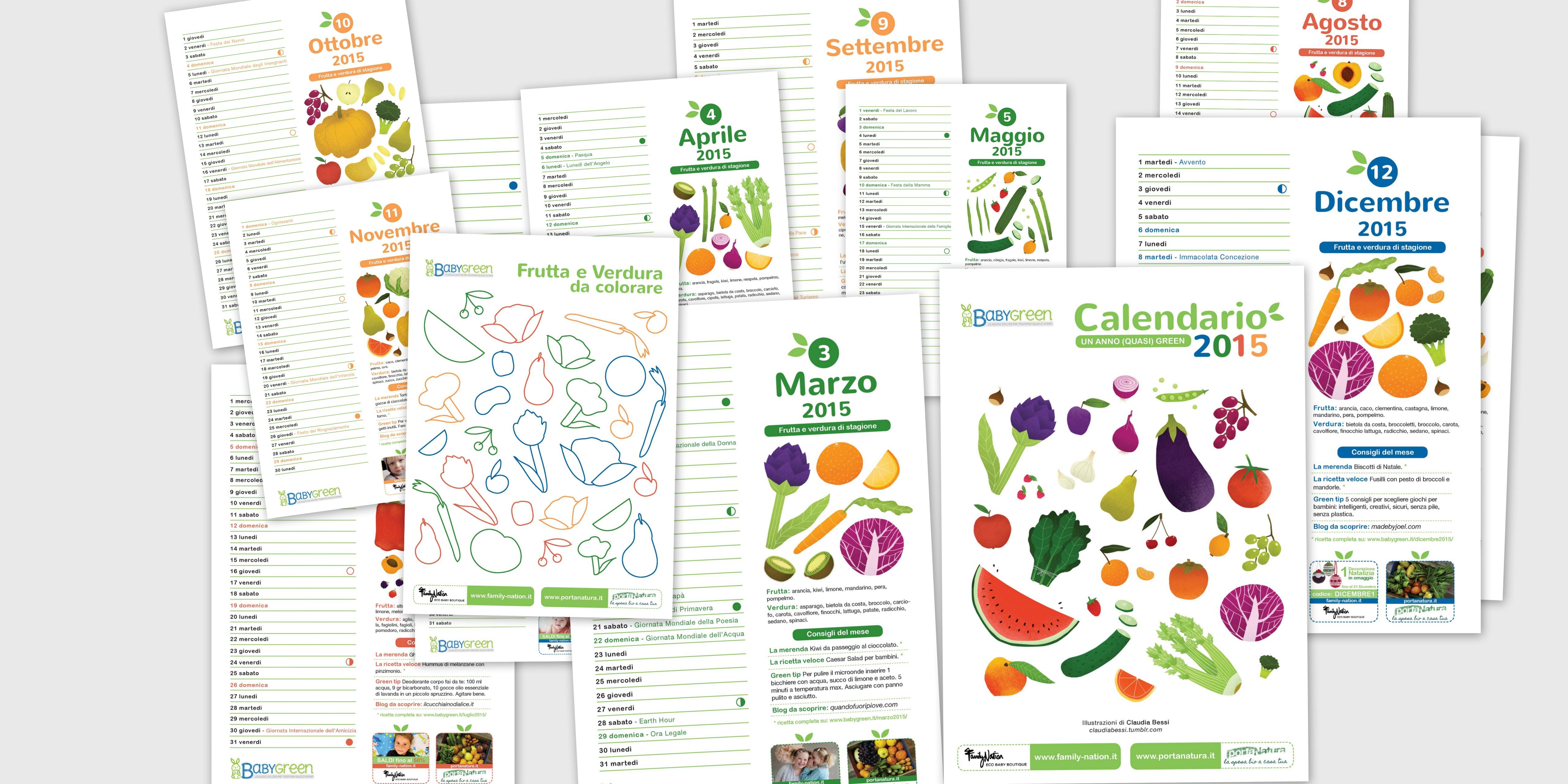 Calendario 2015 pdf gratis da stampare di babygreen - Stampare pagine da colorare ...