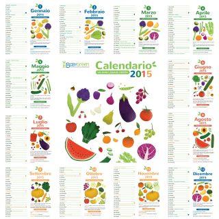 Calendario 2015 pdf (gratis) da stampare di BabyGreen