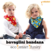 Bavaglini bandana eco & smart: arriva in Italia Funky Giraffe