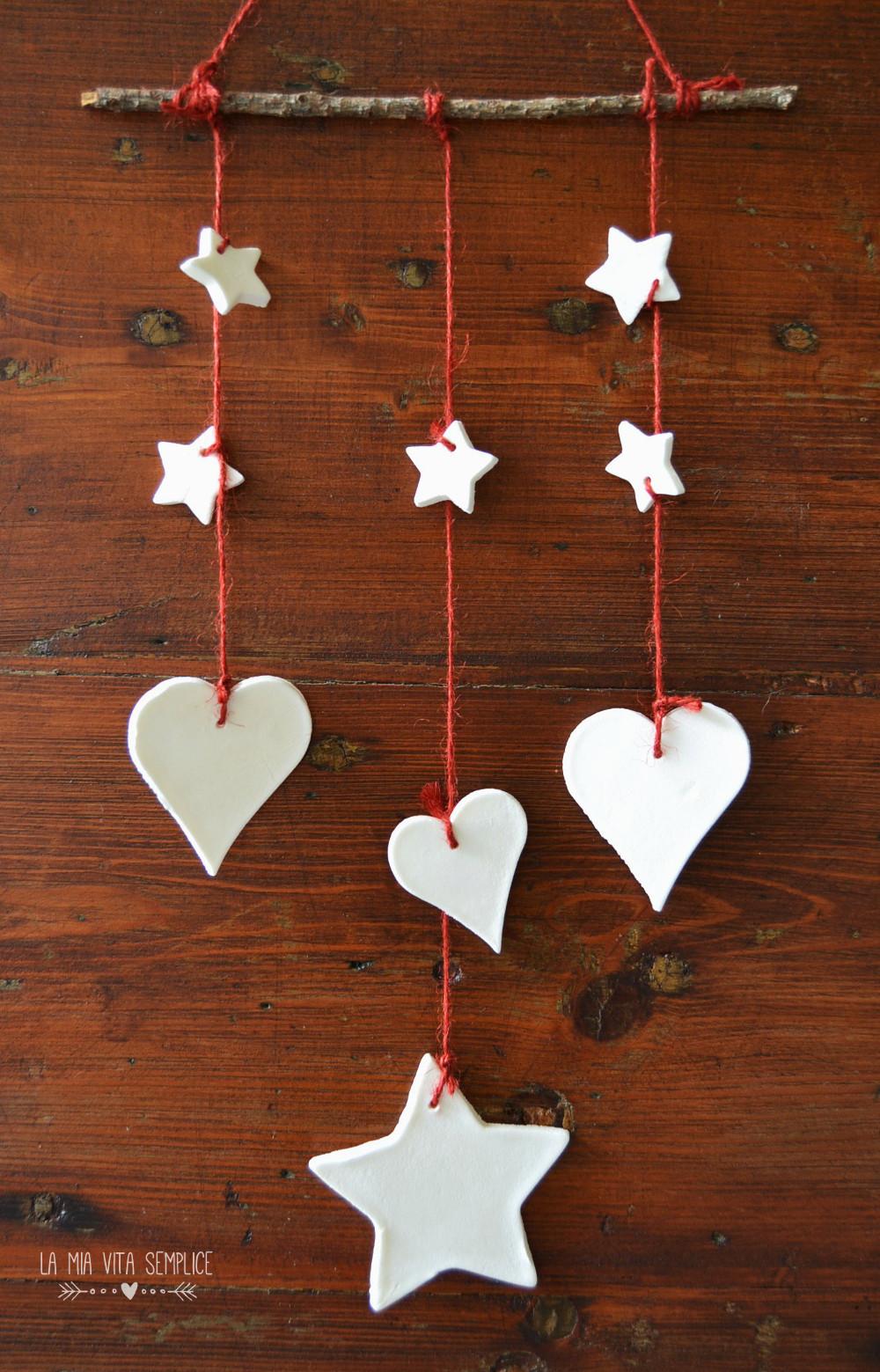 Decorazioni natalizie con pasta al bicarbonato babygreen for Decorazioni natalizie in legno da appendere