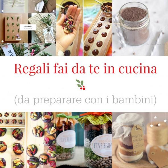 Estremamente Regali fai da te in cucina (con i bambini) - BabyGreen LM02