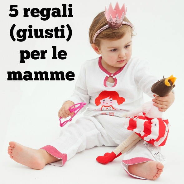 5 regali per neomamme for Regali per