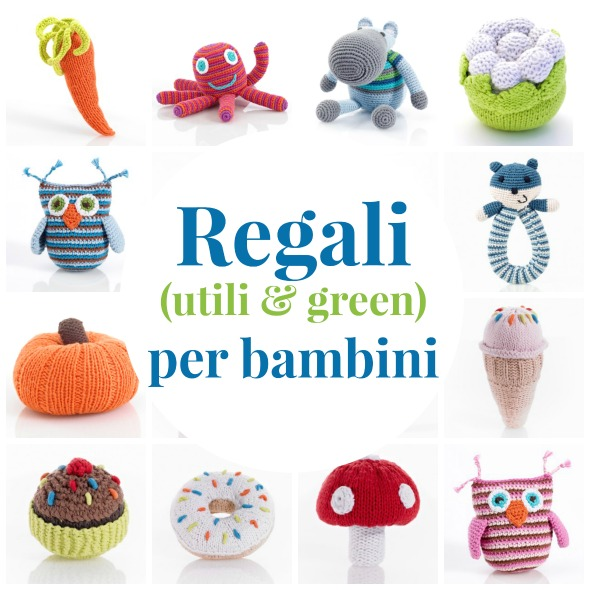 Regali utili e green per bambini for Regali design