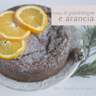 torta di panettone e arancia