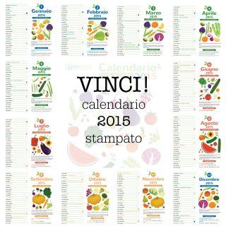 VINCI! Calendario 2015 di BabyGreen (stampato & rilegato)