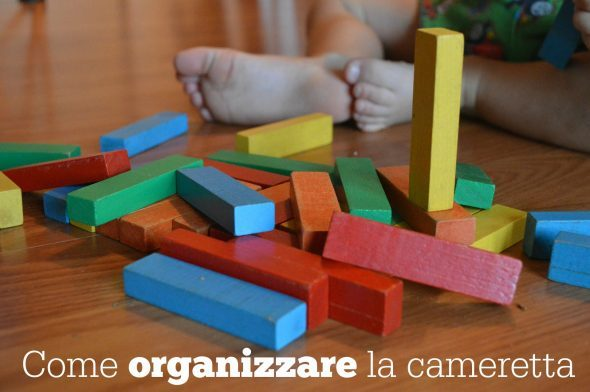 Come organizzare la cameretta