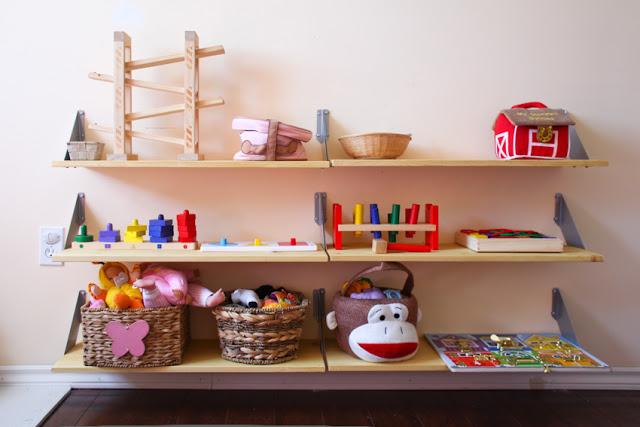 Scaffali Per Bambini: Montessori da ikea babygreen. Csb onlus ...