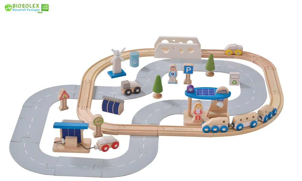 Citta-treno-legno