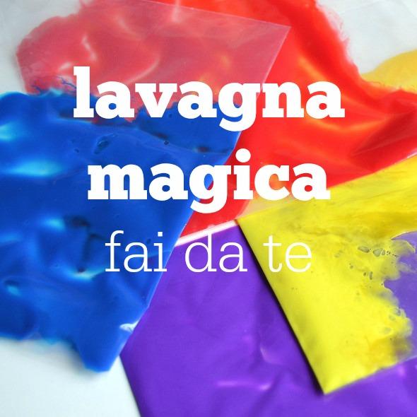 Lavagna magica fai da te babygreen for Costruire la mia piccola casa online
