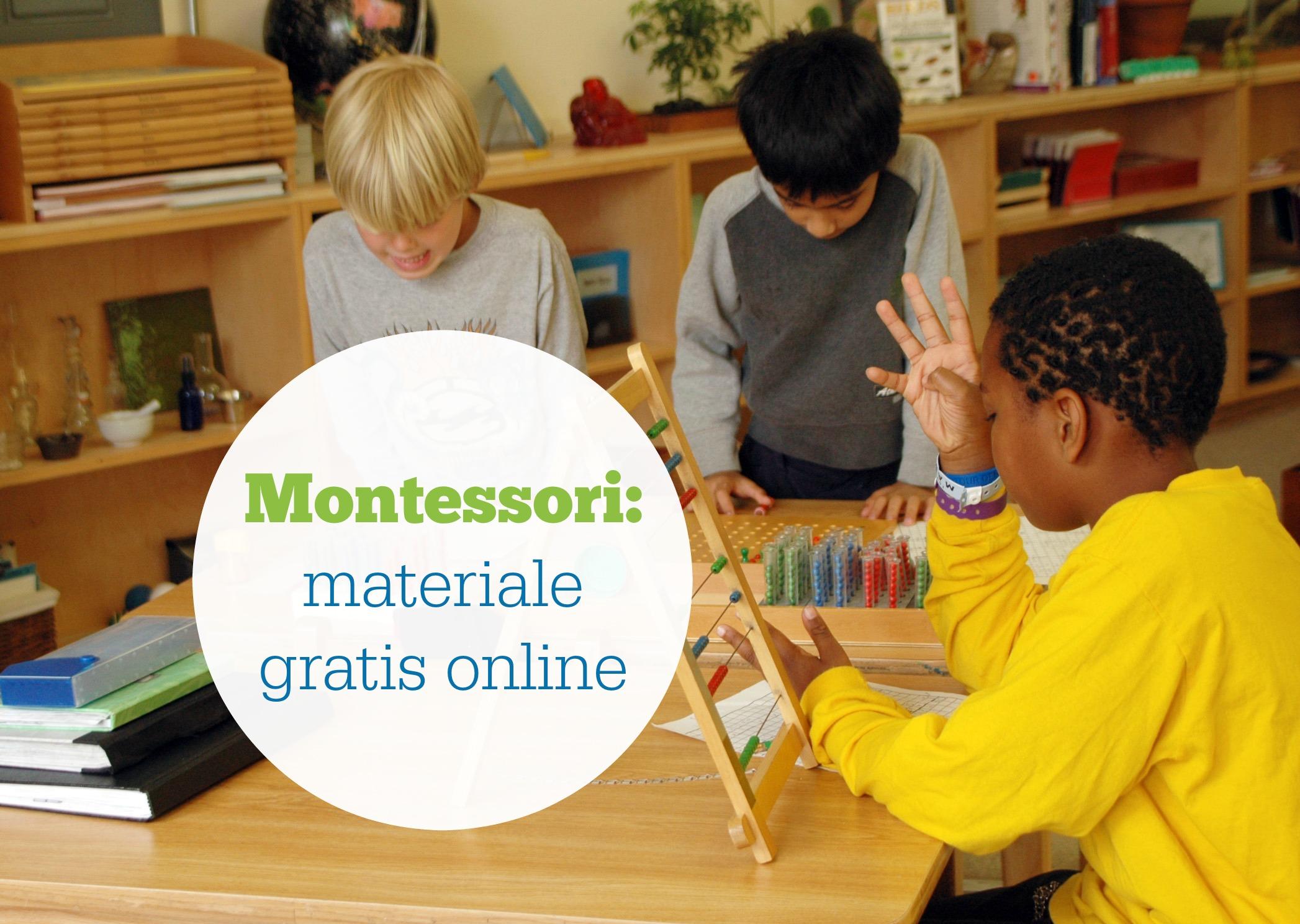 montessori-materiale-gratis-online
