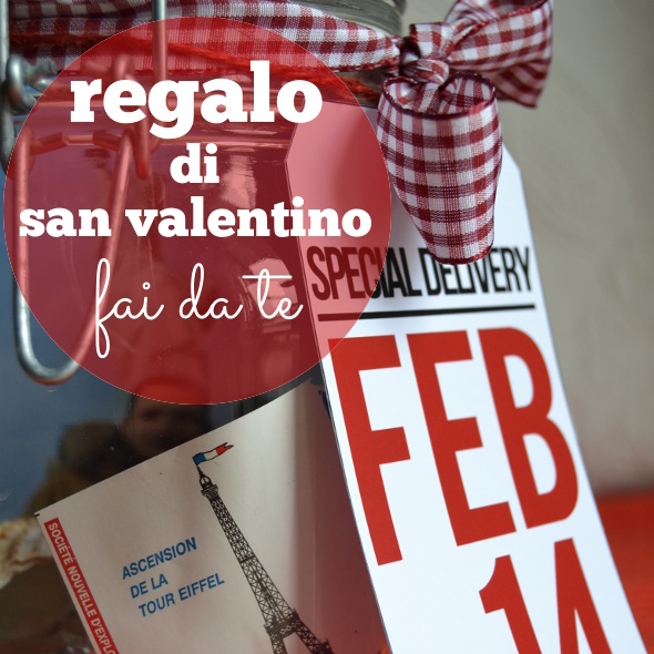 Regalo di San Valentino fai da te