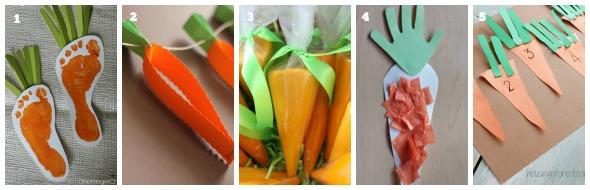 collage carote numerato