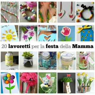 20 lavoretti per la festa della Mamma