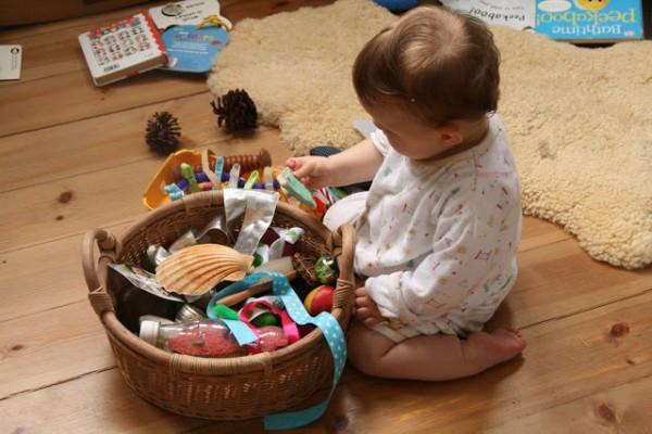 Il treasure basket di The Imagination Tree